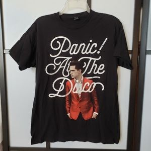 Panic at the Disco graphic Hot Topic tee